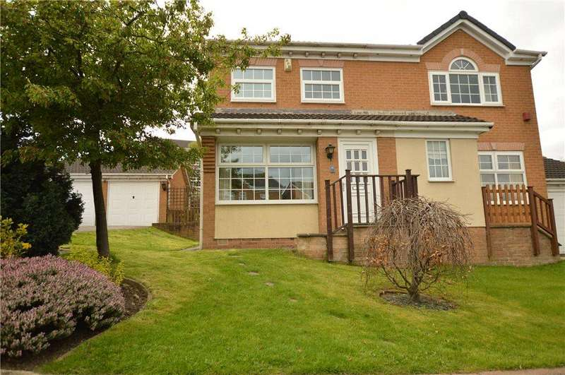 3 Bedrooms Semi Detached House for sale in Buckthorne Drive, East Ardsley, Wakefield