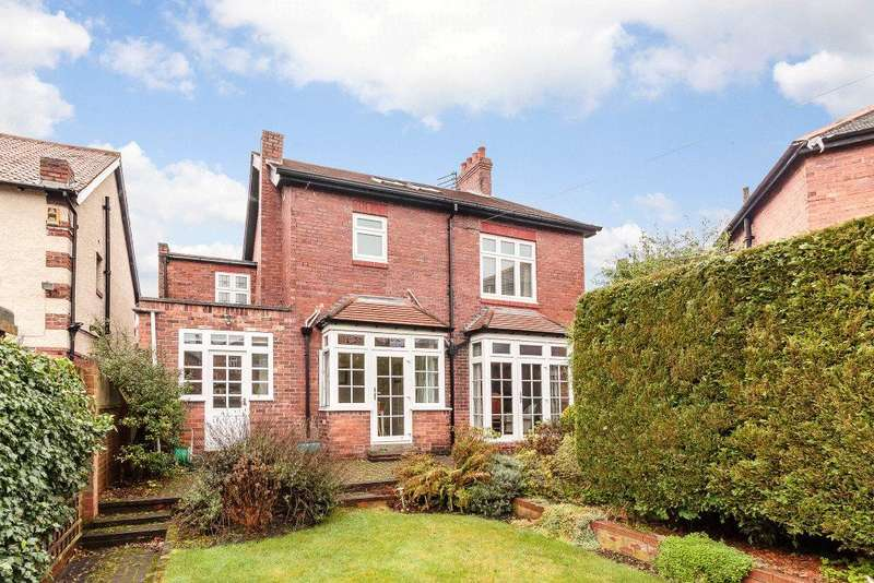 4 Bedrooms Detached House for sale in Rosebery Crescent, Jesmond, Newcastle Upon Tyne, Tyne Wear