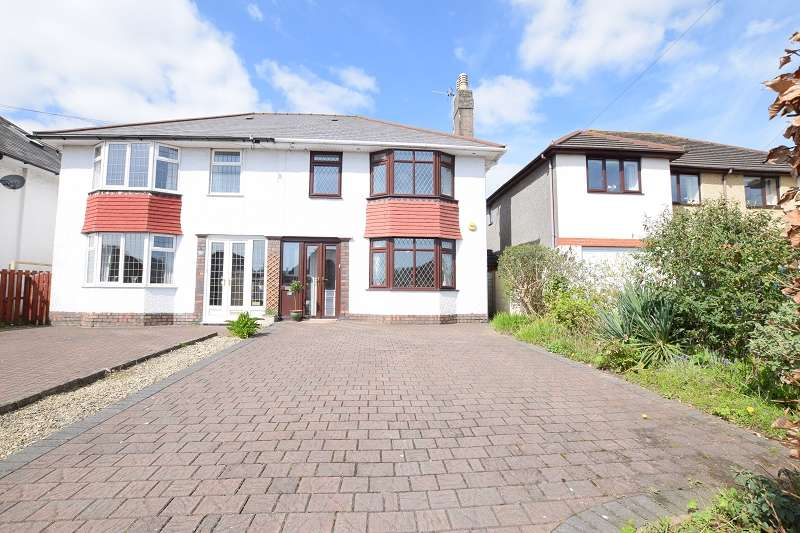 3 Bedrooms Semi Detached House for sale in Tyn-Y-Parc Road, Rhiwbina, Cardiff. CF14 6BL