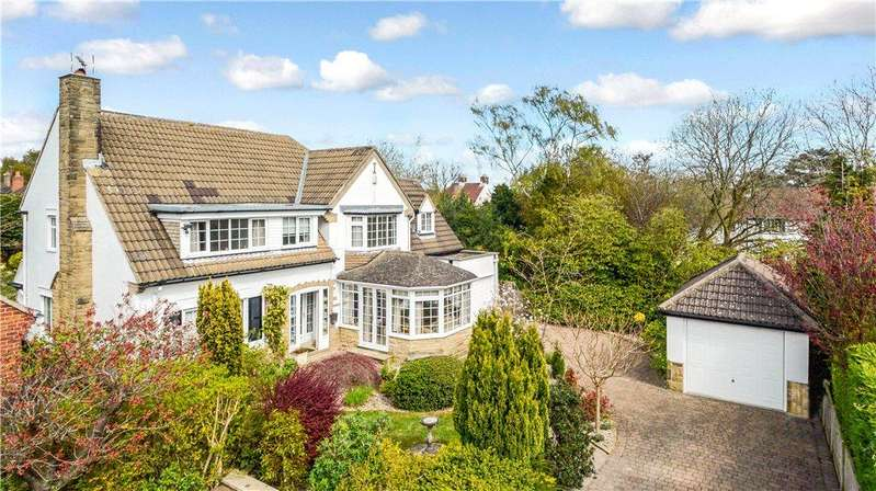 4 Bedrooms Detached House for sale in Firs Close, Harrogate, North Yorkshire