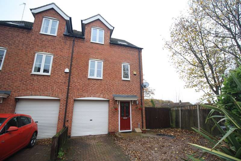 3 Bedrooms Semi Detached House for sale in Field View, Swadlincote, Derbyshire, DE11
