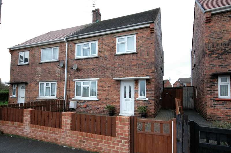 3 Bedrooms Semi Detached House for sale in Waverley Avenue, Bedlington, Northumberland, NE22