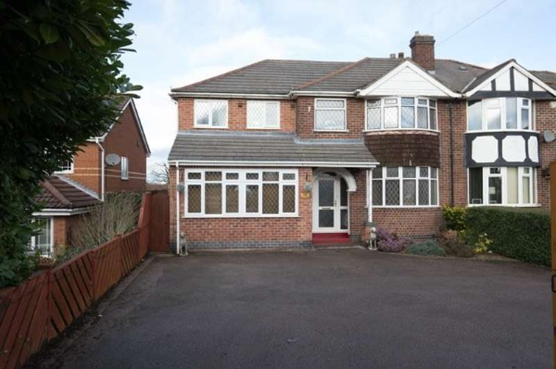 4 Bedrooms Semi Detached House for sale in Ibstock rd, Ellistown, Leicestershire, LE67