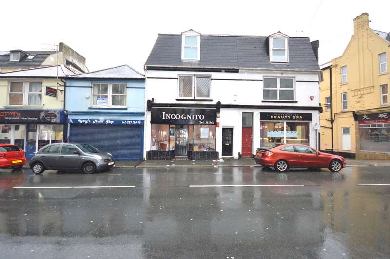 2 Bedrooms Maisonette Flat for sale in Ebrington Street, Plymouth, Devon, PL4