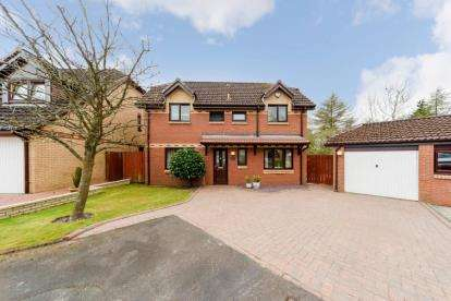 4 Bedrooms Detached House for sale in Whitelees Road, Cumbernauld
