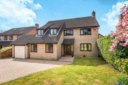 4 Bedrooms Detached House for sale in Cringleford, Norwich, Norfolk
