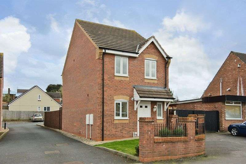 3 Bedrooms Detached House for sale in Harrow Close, Brereton, Rugeley