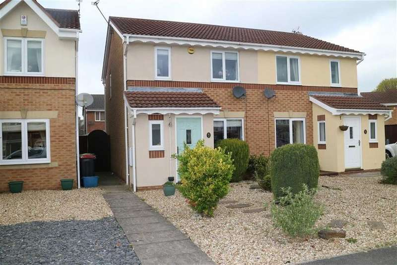 3 Bedrooms Semi Detached House for sale in Ashcourt Gardens, Sutton In Ashfield, Notts, NG17