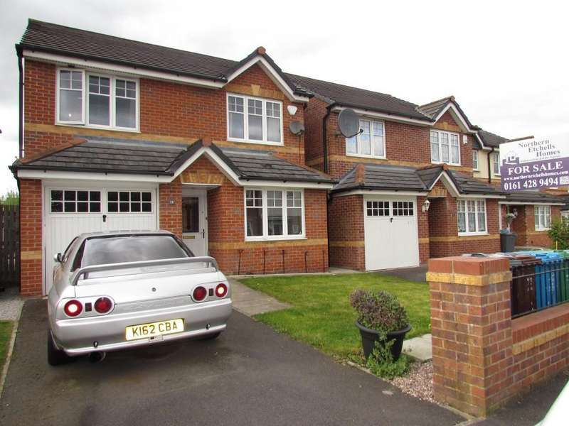 4 Bedrooms Detached House for sale in Sandycroft Avenue, Woodlands Grange, Manchester