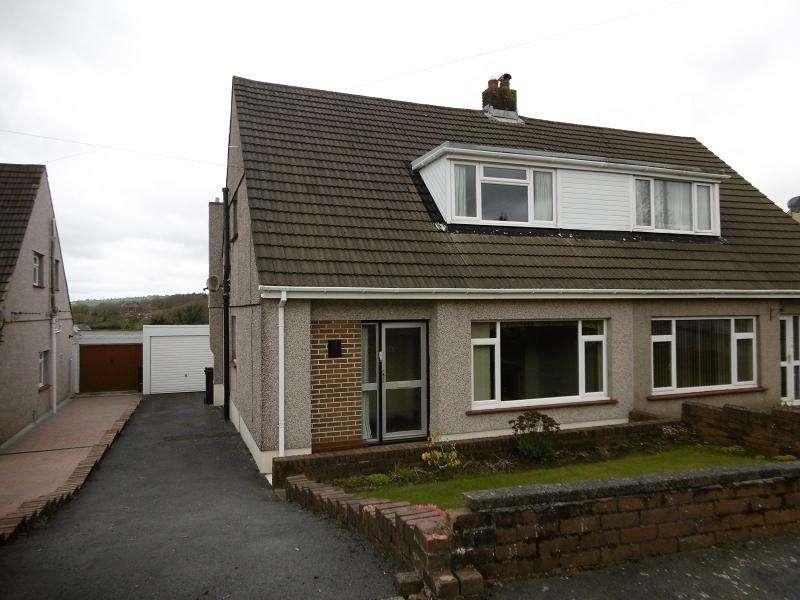 2 Bedrooms Semi Detached House for sale in Maeslan , Rhos, Pontardawe, Swansea.