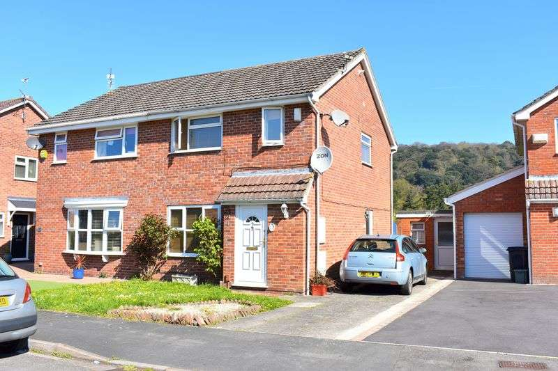 3 Bedrooms Semi Detached House for sale in Brookfield Walk, Clevedon