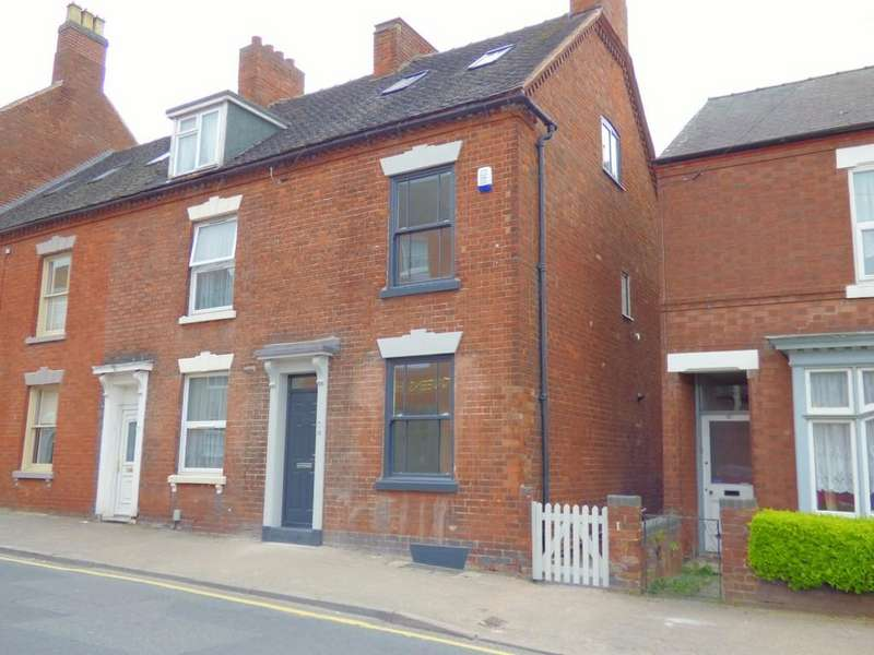 3 Bedrooms End Of Terrace House for sale in Queen Street, Lichfield