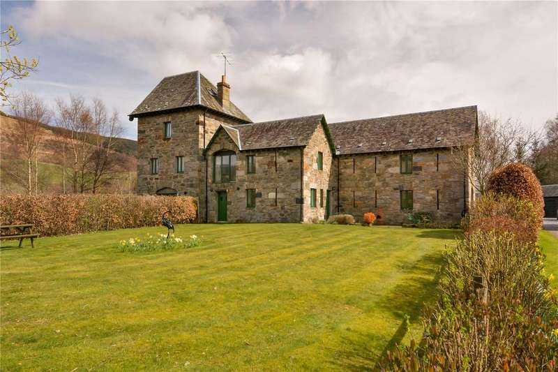5 Bedrooms Unique Property for sale in Mill House, Mains Of Comrie, Keltneyburn, Aberfeldy, PH15