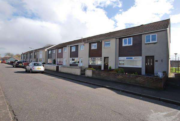 3 Bedrooms Terraced House for sale in 50 Langcroft Avenue, Prestwick, KA9 2LY