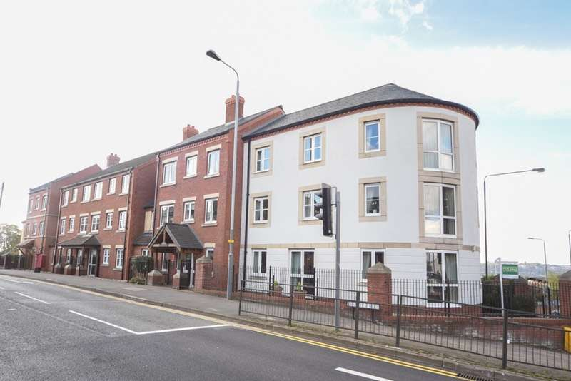 2 Bedrooms Retirement Property for sale in Hartwell Court, Church Street, Nottingham, Nottinghamshire, NG16