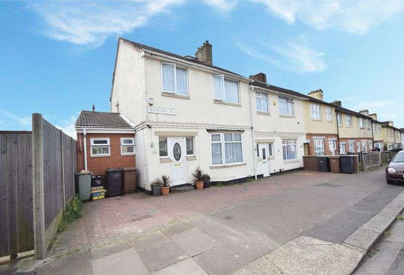 3 Bedrooms Terraced House for sale in Whitecroft Road, Luton