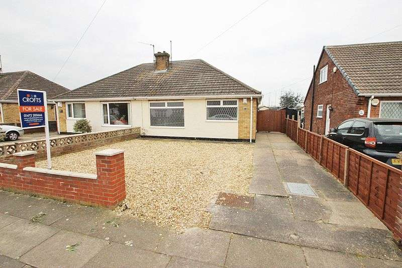 2 Bedrooms Semi Detached Bungalow for sale in WORLABY ROAD, SCARTHO