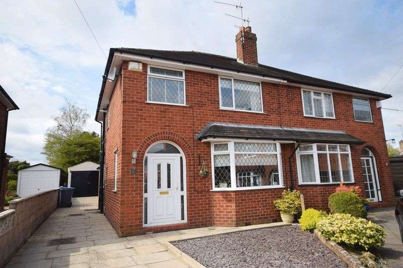 3 Bedrooms Semi Detached House for sale in Chertsey Place, Sneyd Green