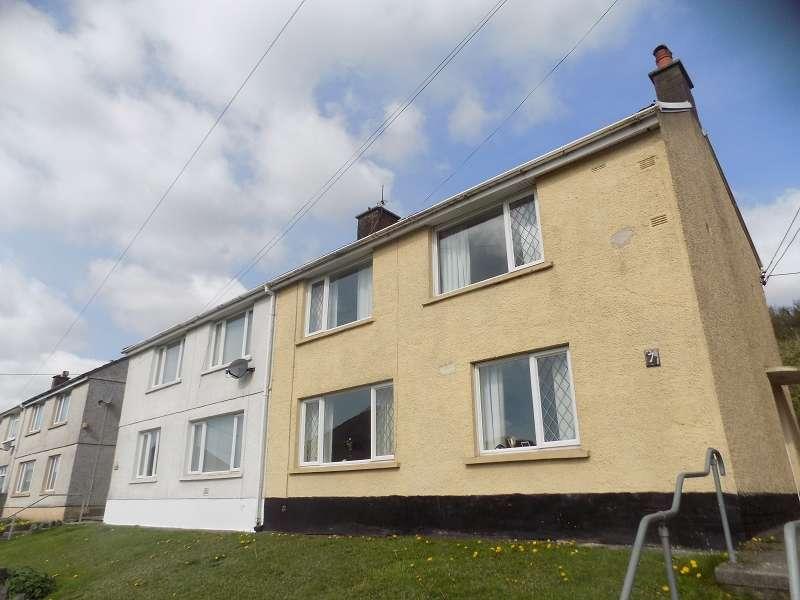 3 Bedrooms Semi Detached House for sale in Welfare Avenue, Bryn, Port Talbot, Neath Port Talbot. SA13 2RU