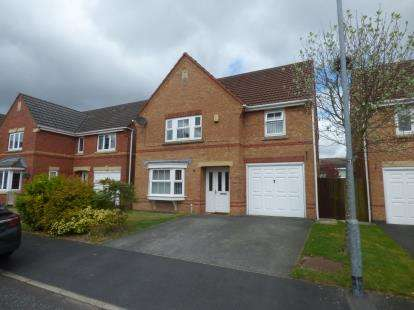 4 Bedrooms Detached House for sale in Martham Gardens, St. Helens, Merseyside, WA9