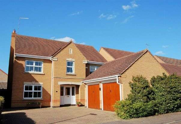 4 Bedrooms Detached House for sale in Lynmore Close, Hunsbury Meadows, Northampton NN4 9QU