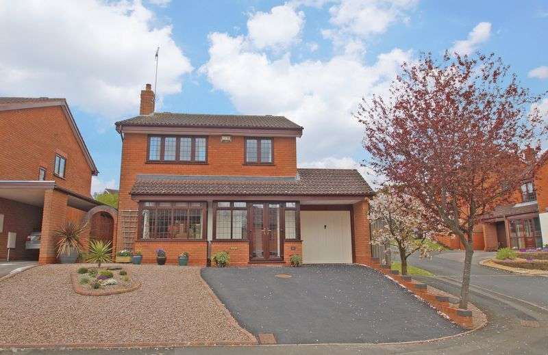 4 Bedrooms Detached House for sale in Shirehampton Close, Webheath. Redditch