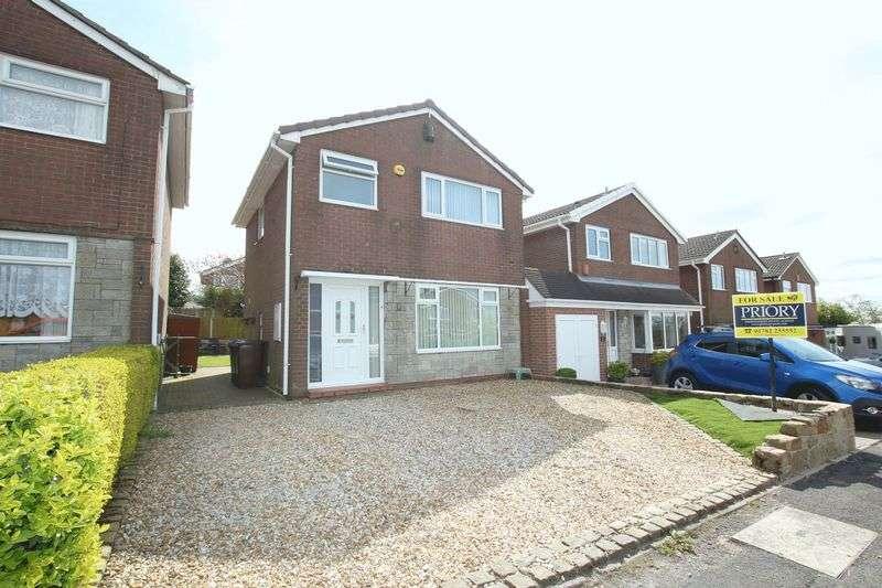 3 Bedrooms Detached House for sale in Trentley Drive, Biddulph Moor