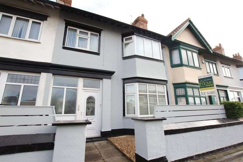 4 Bedrooms Terraced House for sale in Woodchurch Road, Prenton, Wirral