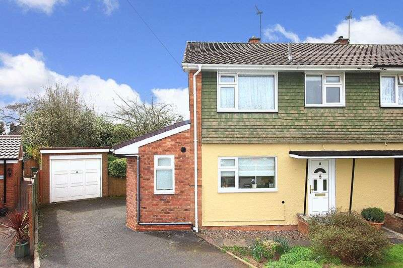 3 Bedrooms Semi Detached House for sale in CODSALL, Princes Drive