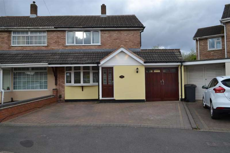 3 Bedrooms Semi Detached House for sale in St. Pauls Crescent, Walsall