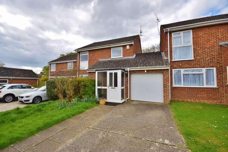 3 Bedrooms Link Detached House for sale in Worting, Basingstoke, RG23