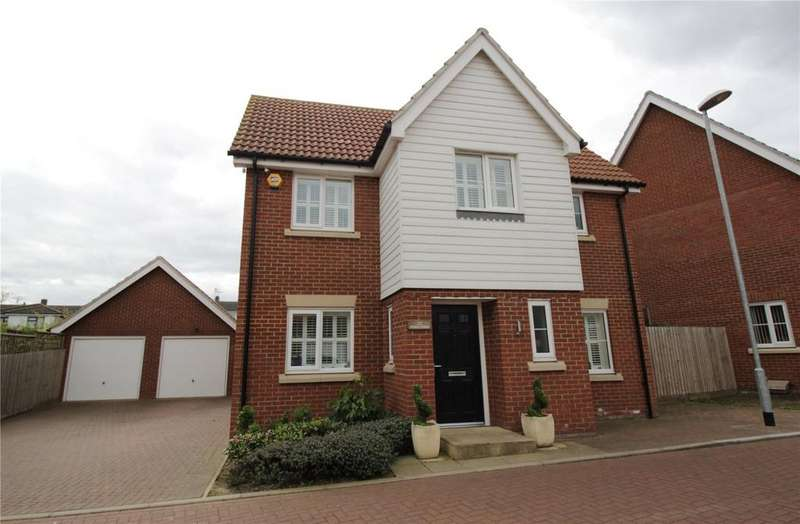 4 Bedrooms Detached House for sale in Scholars Crescent, Laindon, Essex, SS15
