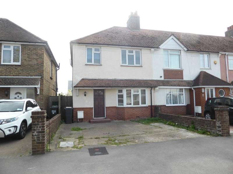 3 Bedrooms Semi Detached House for sale in Queens Crescent, Eastbourne, BN23