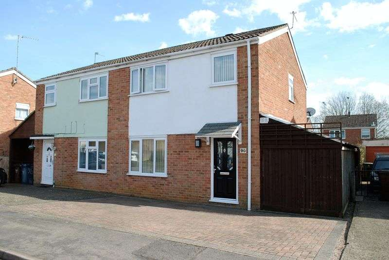 3 Bedrooms Semi Detached House for sale in Elton Road, Banbury