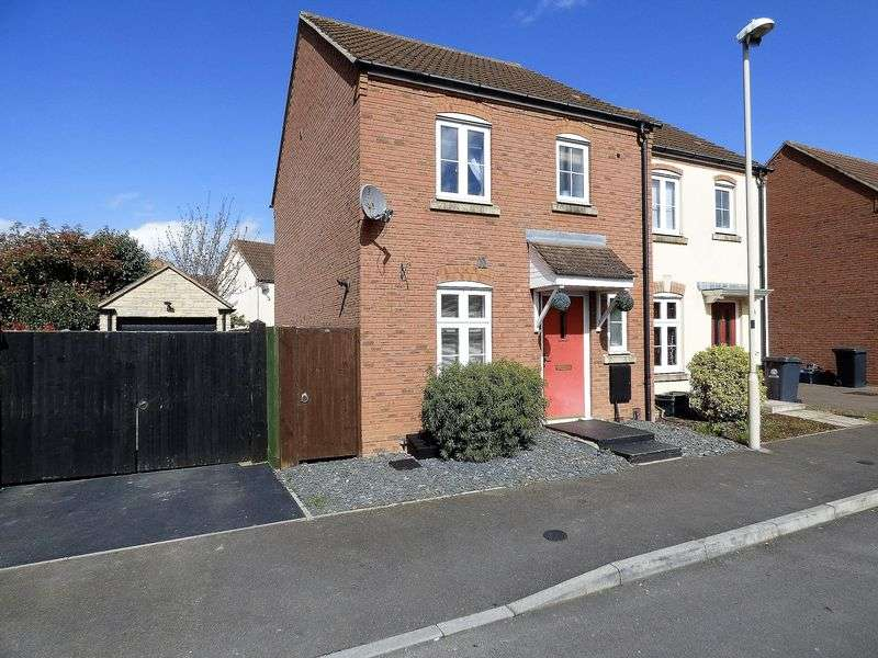 3 Bedrooms Semi Detached House for sale in Chivenor Way Kingsway, Gloucester