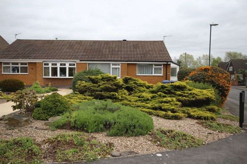 2 Bedrooms Semi Detached Bungalow for sale in JASMINE CLOSE, CHADDESDEN