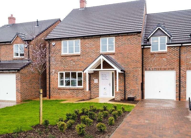 4 Bedrooms Semi Detached House for sale in Harcourt Gardens, Stanley Common