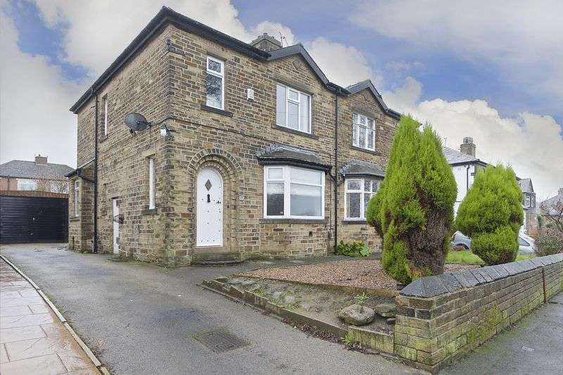 3 Bedrooms Semi Detached House for sale in Windhill Old Road, Thackley, Bradford