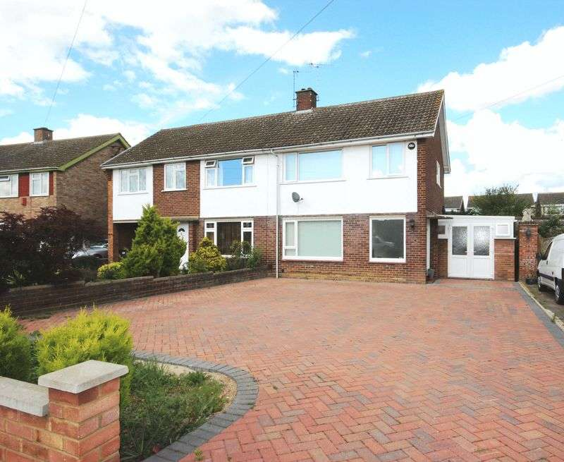 3 Bedrooms Semi Detached House for sale in Putnoe Street, Bedford