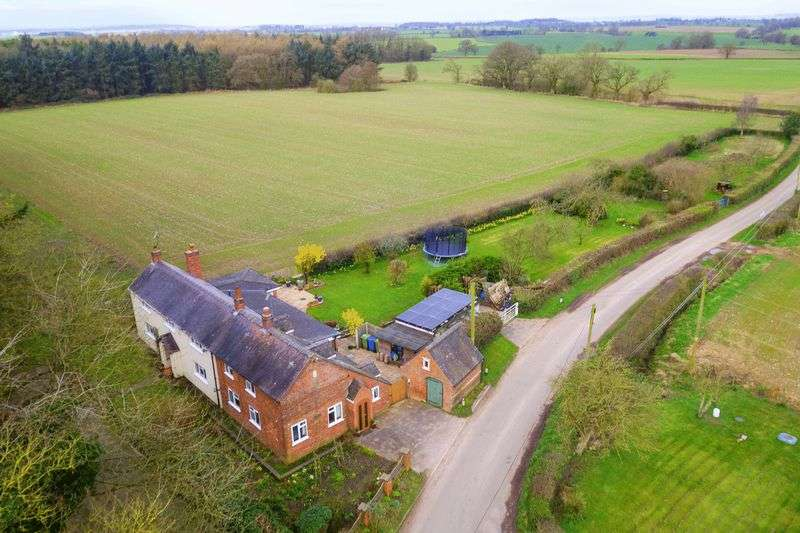 6 Bedrooms Detached House for sale in Four Bedroom Detached with Annexe in a stunning spot, High Onn, Church Eaton, Stafford