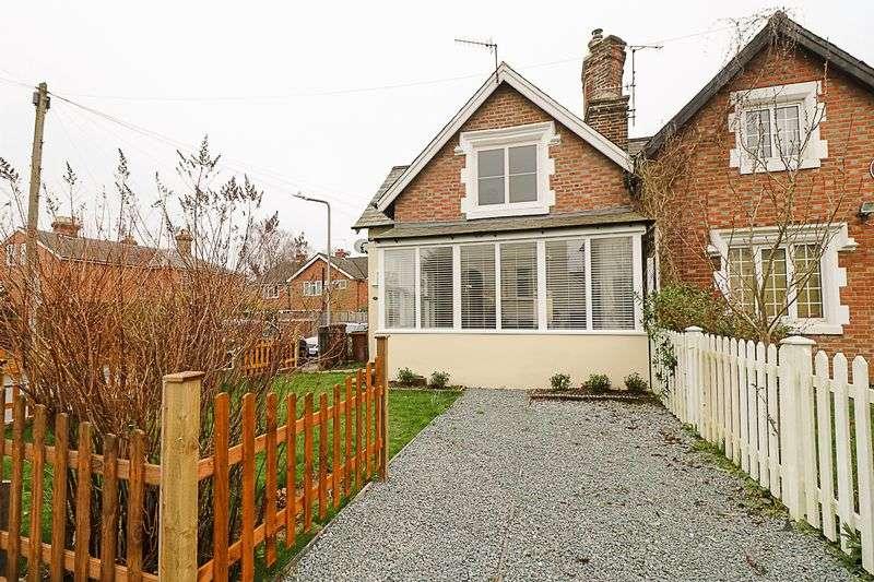 2 Bedrooms Semi Detached House for sale in Newcomen Road, Tunbridge Wells