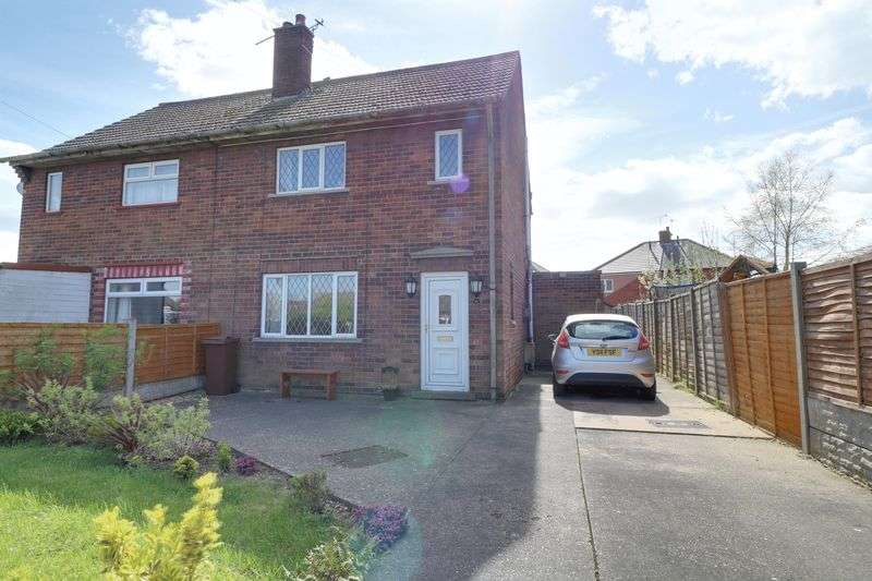 2 Bedrooms Semi Detached House for sale in Pasture Avenue, Burringham