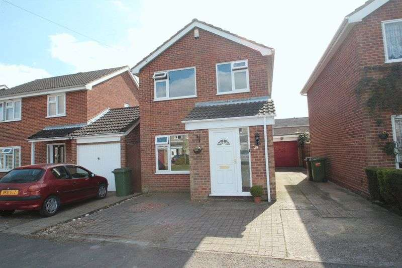 3 Bedrooms Detached House for sale in Bluebell Road, Mulbarton