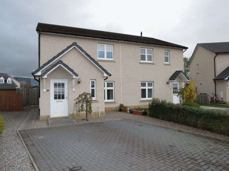 2 Bedrooms Semi Detached House for sale in The Cairns, Muir Of Ord