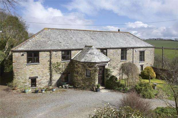 5 Bedrooms Detached House for sale in Pelynt, Looe, Cornwall