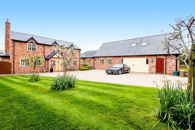 6 Bedrooms Detached House for sale in Holywell Lane, Clutton, Chester