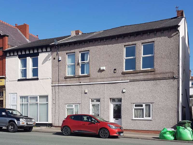 3 Bedrooms Flat for sale in 42 King Street, Wallasey, Wirral