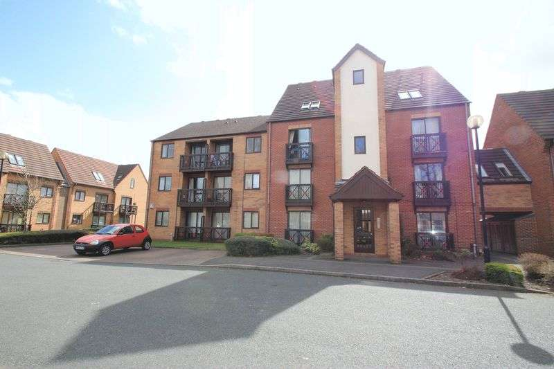 1 Bedroom Flat for sale in Peter James Court, Stafford ST16