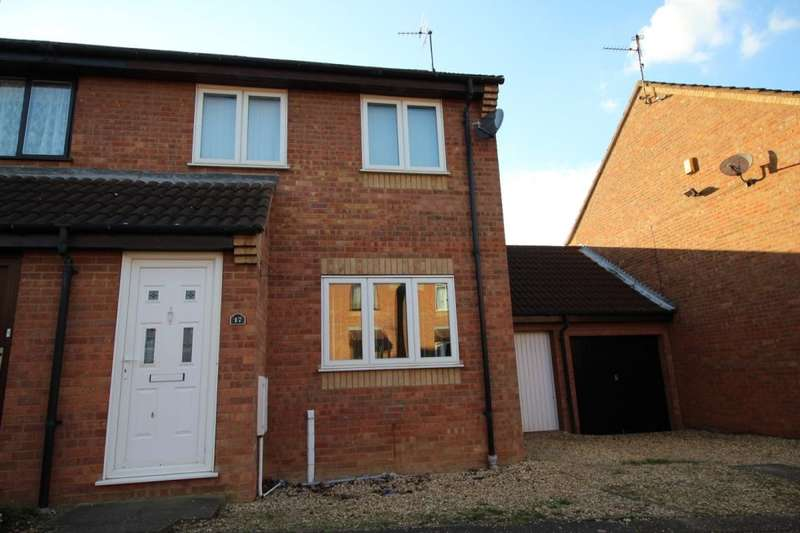 3 Bedrooms Semi Detached House for sale in Fletton Fields, Fletton, Peterborough, PE2
