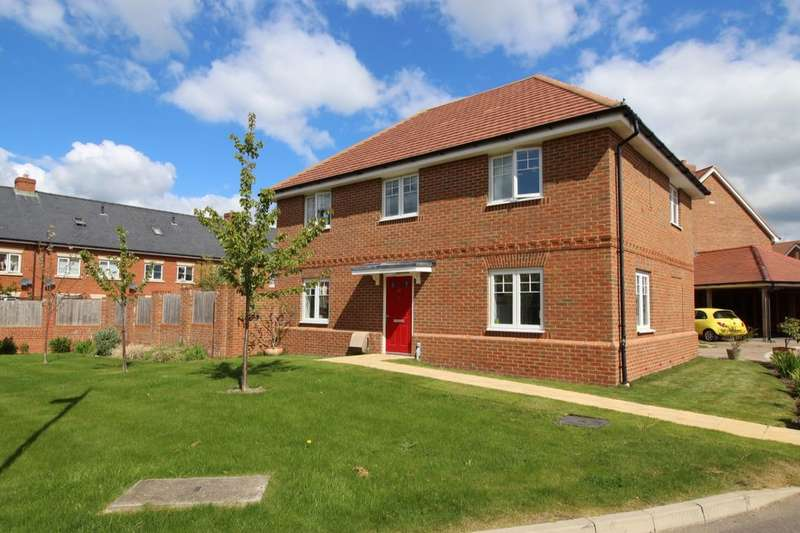 4 Bedrooms Detached House for sale in Reid Crescent, Hellingly, Hailsham, BN27